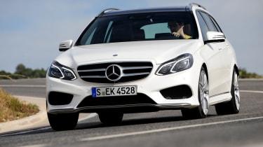 Mercedes E-Class Estate front cornering