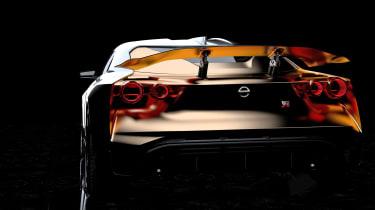 Nissan GT-R50 by Italdesign prototype rear