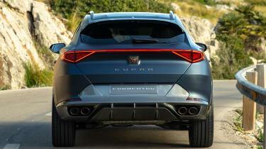Cupra Formentor - rear tracking