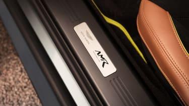 Aston Martin Vantage AMR - sill detail