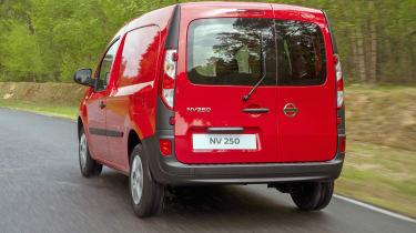 Nissan NV250 rear quarter