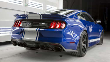 Shelby Mustang Super Snake rear quarter
