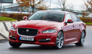 Jaguar XJ R-Sport 2015 action