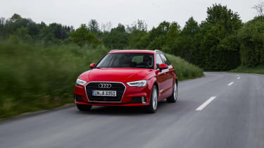 Audi A3 Sportback - front tracking