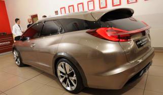 Honda Civic Tourer rear