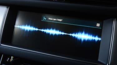 Jaguar XF Long-Term Test - voice recognition