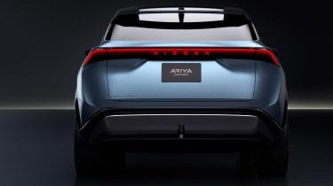 Nissan Ariya concept studio rear