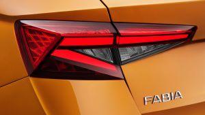 Skoda Fabia - rear light