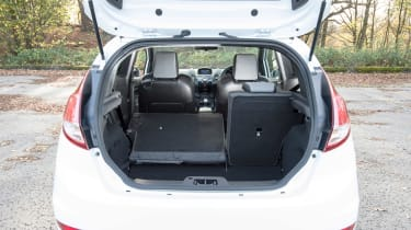 Ford Fiesta ST Mountune 230 - boot space