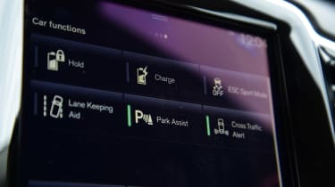 Volvo XC60 T8 - screen