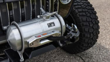 Jeep's wildest concepts driven - Quicksand winch