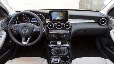 Mercedes C200 BlueTec interior