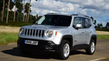 Used Jeep Renegade - front action