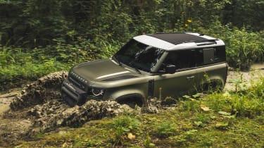 2019 Land Rover Defender off-road