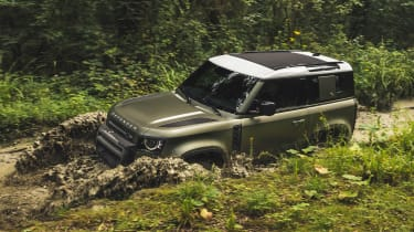 2019 Land Rover Defender off-road