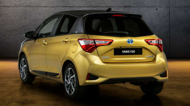 Toyota Yaris Y20 Launch Edition - rear