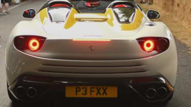 Ferrari SP3JC - rear static Goodwood 2019
