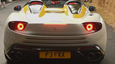 Ferrari SP3JC - rear static Goodwood 2019