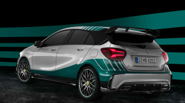 Mercedes-AMG A 45 PETRONAS 2015 World Champion Edition rear