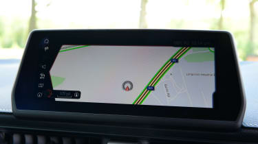 Toyota Supra - screen