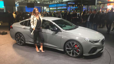 Frankfurt - Vauxhall Insignia GSi - front