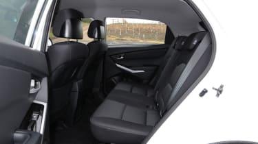 SsangYong Korando rear seats
