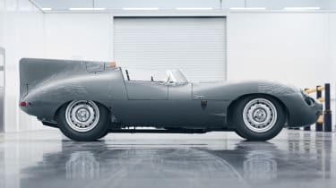 Jaguar D-Type continuation driver side profile