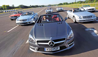 60 years of the Mercedes SL
