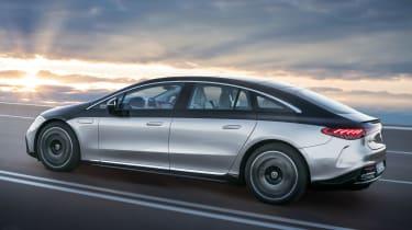 Mercedes EQS - rear