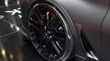 Infiniti Q60 Project Black S Geneva - wheel detail