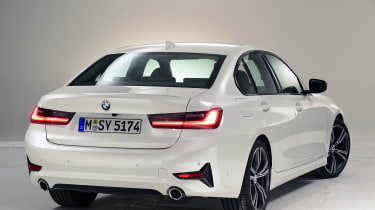 BMW 3 Series - studio rear static