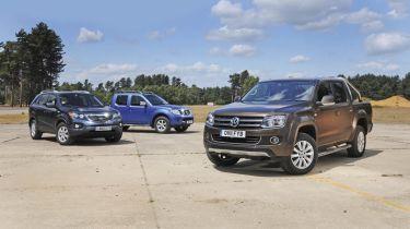 VW Amarok vs. rivals