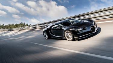 Bugatti Chiron 2016 - Dynamic Front Tracking
