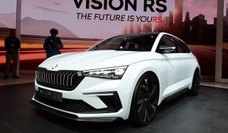 Skoda Vision RS - Paris front