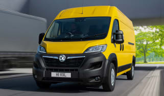 Vauxhall Movano-e - front action