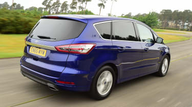 Ford S-MAX long-term - rear