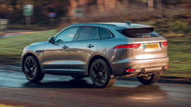 Jaguar F-Pace Chequered Flag - rear