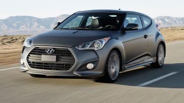 Hyundai Veloster Turbo front tracking