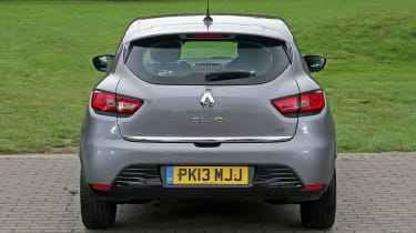 Used Renault Clio - full rear