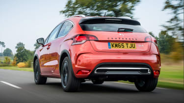 DS 4 Crossback 2016 - rear tracking