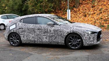 Mazda 3 - spy side