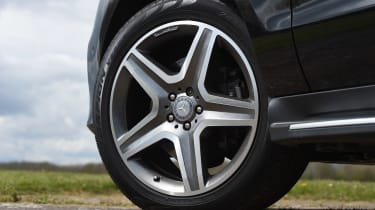 Mercedes GLE 350d - wheel detail