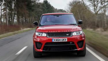 Range Rover Sport SVR - head on