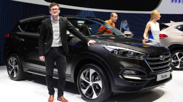"You can't go to a Motor Show these days without a raft of new SUVs and crossover taking centre stage, and I think that Hyundai had one of the most stylish on show at Geneva. Not only does the&nbsp;<a href=""/hyundai/90277/hyundai-tucson"