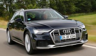 Audi A6 Allroad - front