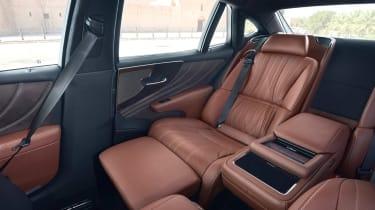Lexus LS 500h - rear seats