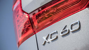 New Volvo XC60 review - taillight