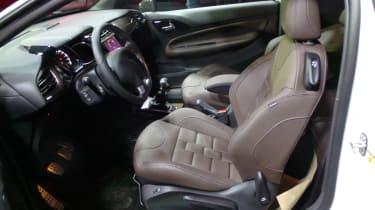 DS 3 hatchback 2016 - interior reveal