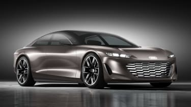 Audi Grandsphere concept - front