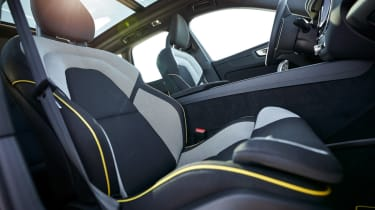 Volvo XC60 recycled plastic interior